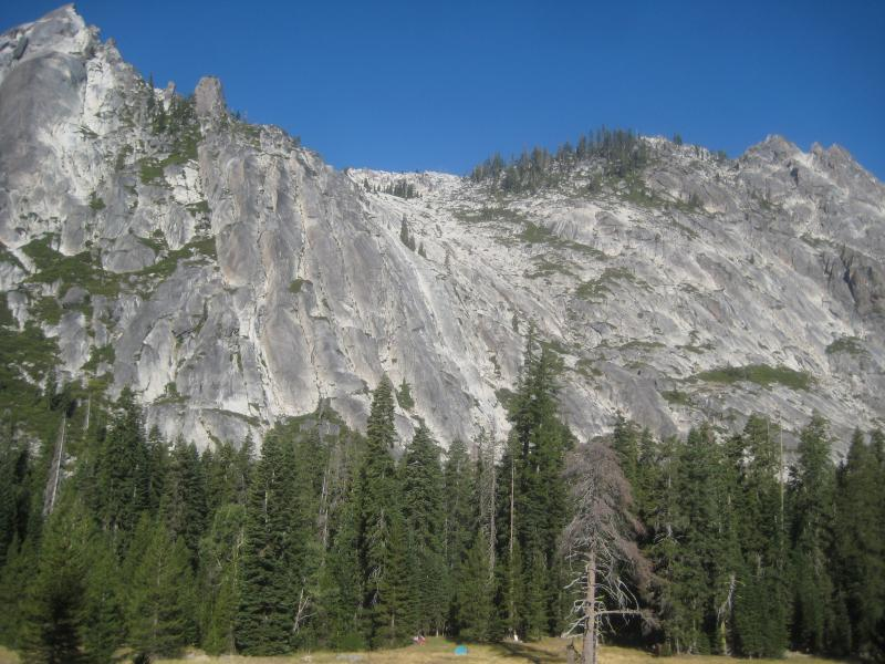 Trinity Alps Hunting Camp